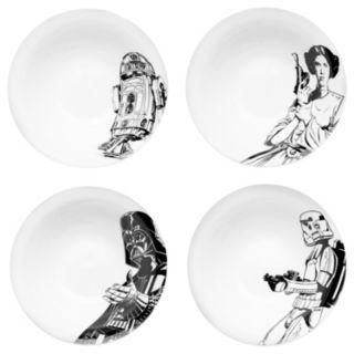 Star Wars 4-pc. Dessert Bowl Set by Zak Designs