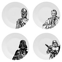 Star Wars 4-pc. Dessert Plate Set by Zak Designs