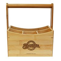 Milwaukee Brewers Bamboo Utensil Caddy