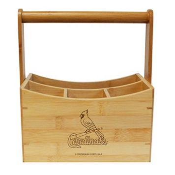 St. Louis Cardinals Bamboo Utensil Caddy