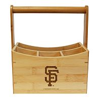 San Francisco Giants Bamboo Utensil Caddy