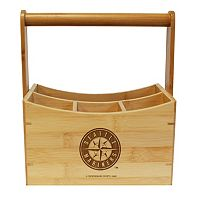 Seattle Mariners Bamboo Utensil Caddy