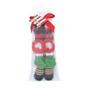 Baby Girl Lovespun 3-pk. Holiday Socks