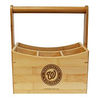Washington Nationals Bamboo Utensil Caddy