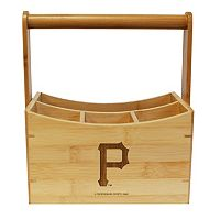 Pittsburgh Pirates Bamboo Utensil Caddy