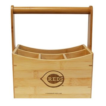 Cincinnati Reds Bamboo Utensil Caddy