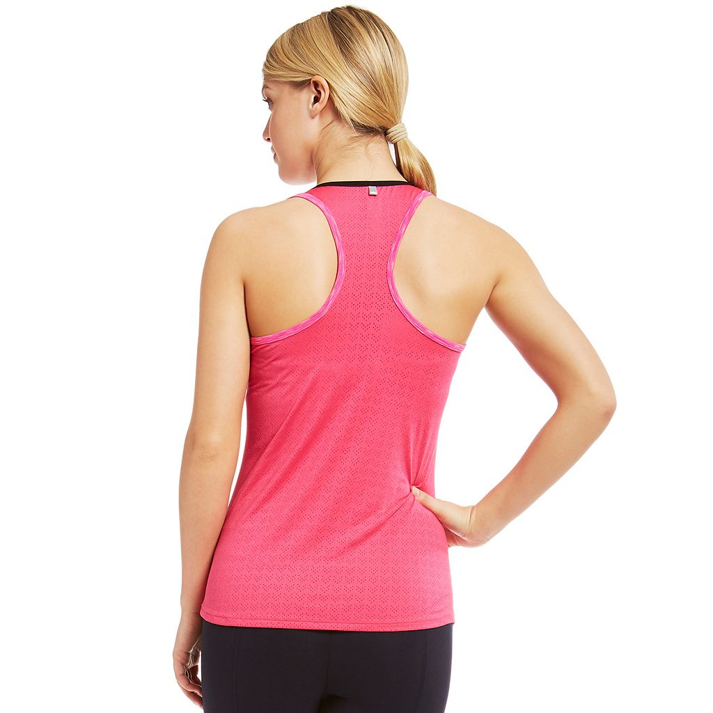 Women's Marika Breathe Perforated Racerback Tank Top