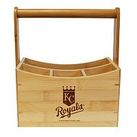 Kansas City Royals Bamboo Utensil Caddy