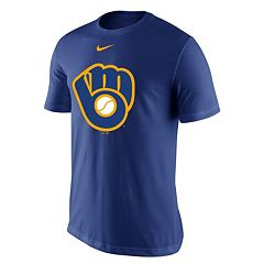 Men's Nike Milwaukee Brewers Lightweight Dri-FIT Tee