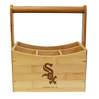 Chicago White Sox Bamboo Utensil Caddy