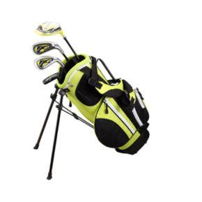 "Kids Golphin 43""-47"" Left Hand Complete Golf Clubs & Stand Bag Set"