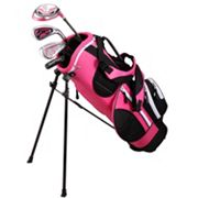 Kids Golphin 43'-47' Left Hand Complete Golf Clubs & Stand Bag Set