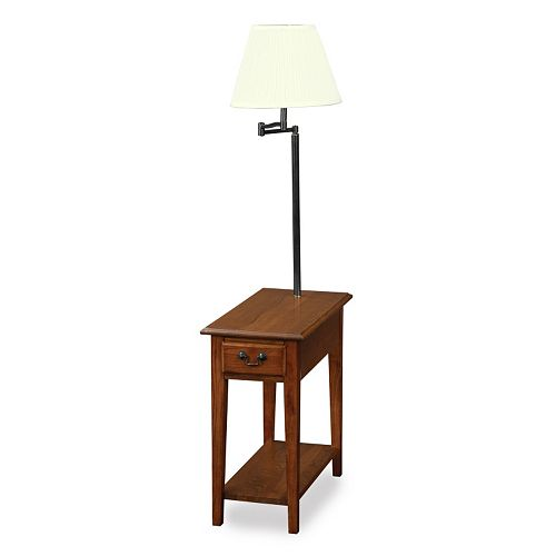 Leick Furniture Chairside Lamp End Table