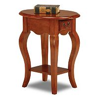 Leick Furniture Elegant Oval End Table