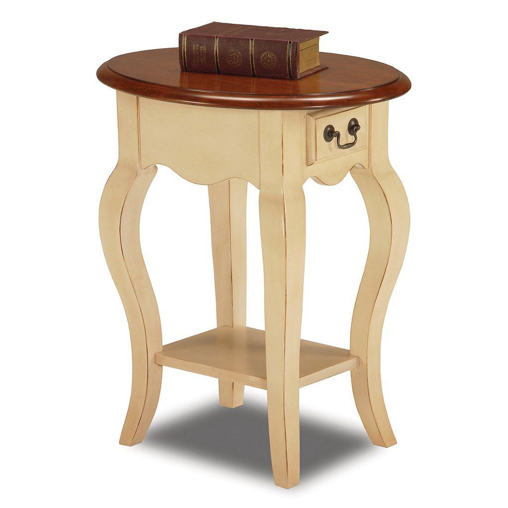 Leick Furniture Elegant Oval End Table