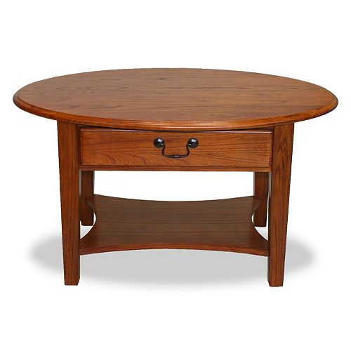 Leick Furniture Oval Coffee Table