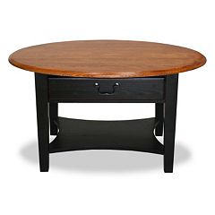 Leick Furniture Oval Coffee Table