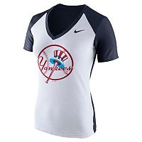 Women's Nike New York Yankees Cooperstown Fan Tee