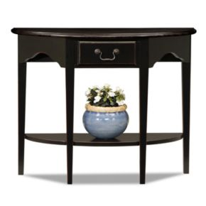 Leick Furniture Demilune Console Table