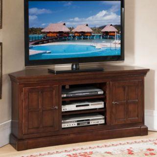 Leick Furniture Bella Maison Corner TV Stand