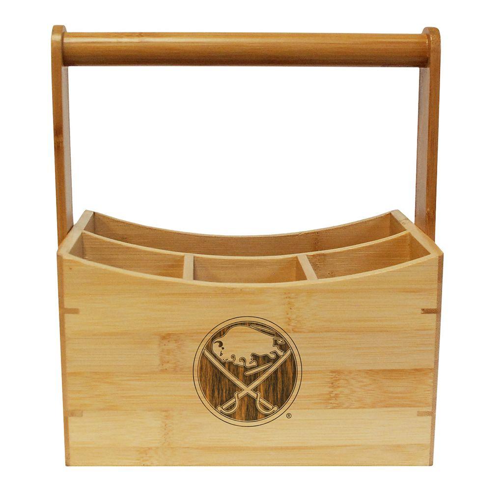 Buffalo Sabres Bamboo Utensil Caddy