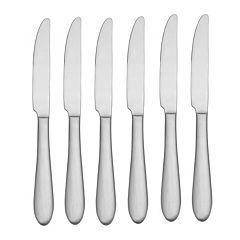 Oneida Vale 6 pc Dinner Knife Set
