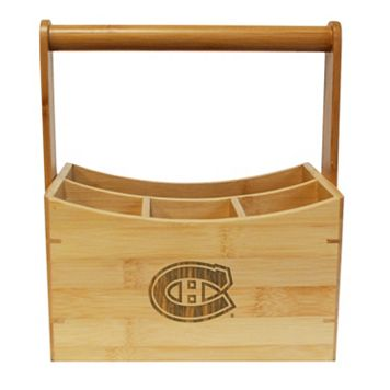 Montreal Canadiens Bamboo Utensil Caddy