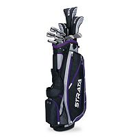 Women's Callaway 2015 Strata Plus Flex Right Hand Golf Clubs & Stand Bag Set