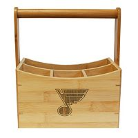 St. Louis Blues Bamboo Utensil Caddy