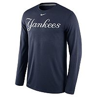 Men's Nike New York Yankees Wordmark Dri-FIT Legend Tee