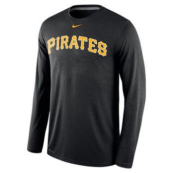 Men's Nike Pittsburgh Pirates Wordmark Dri-FIT Legend Tee