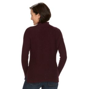 Women's Croft & Barrow® Nep Mockneck Sweater