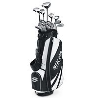 Men's Callaway Strata Ultimate Left Hand Golf Clubs & Stand Bag Set