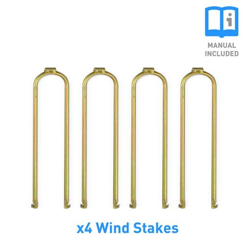 Pure Fun 4-pc. Trampoline Wind Stakes Anchor Kit