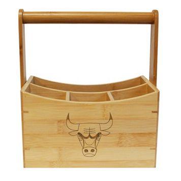 Chicago Bulls Bamboo Utensil Caddy