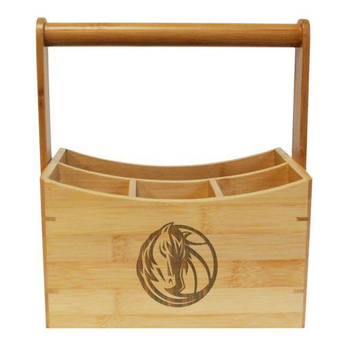 Dallas Mavericks Bamboo Utensil Caddy