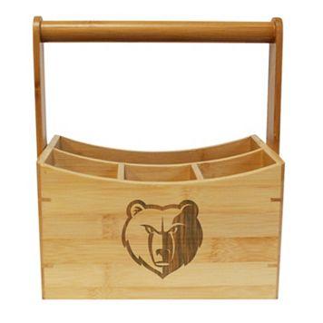 Memphis Grizzlies Bamboo Utensil Caddy