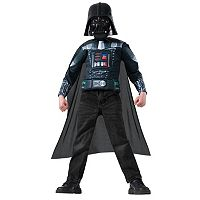 Kids Star Wars Darth Vader Costume Muscle Shirt, Cape & Mask Set