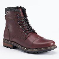 Crevo Camden Men's Cap-Toe Boots
