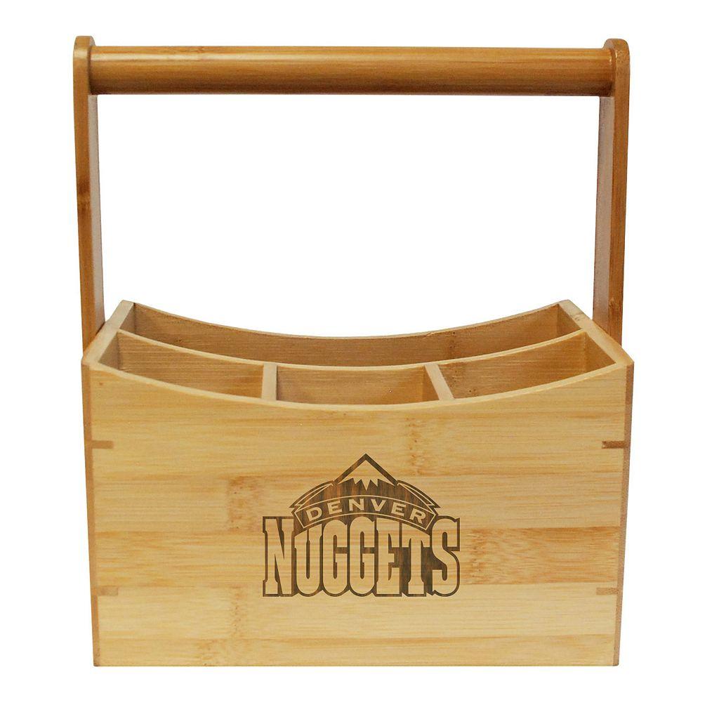 Denver Nuggets Bamboo Utensil Caddy