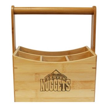 Denver Nuggets Bamboo Utensil Caddy