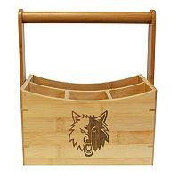 Minnesota Timberwolves Bamboo Utensil Caddy