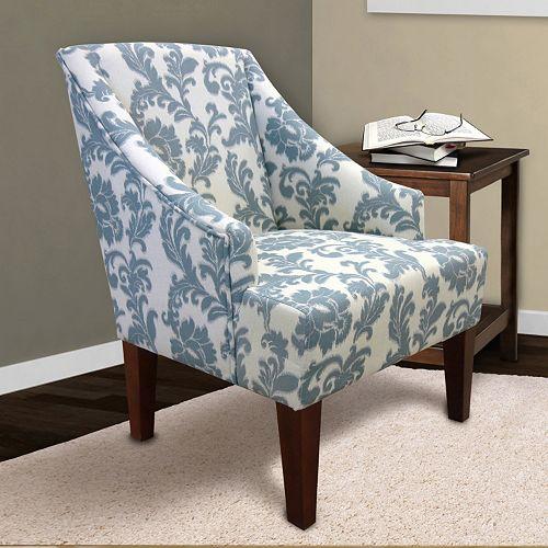 Armen Living Scroll Arm Chair