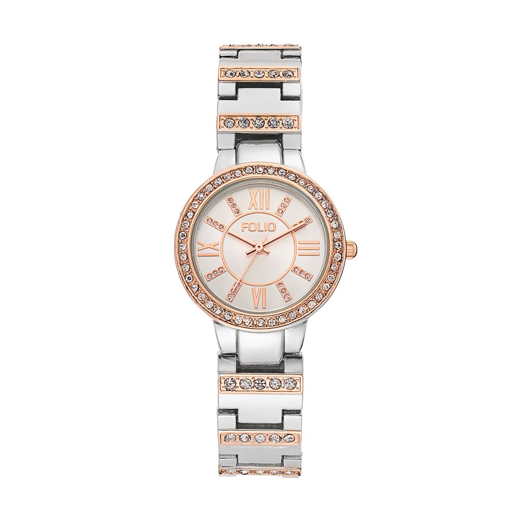 Folio Women's Crystal Watch