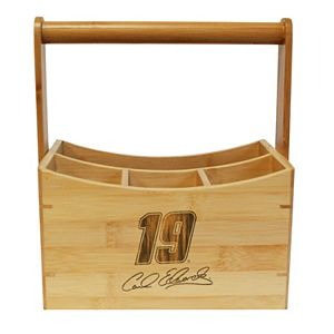 NASCAR Carl Edwards Bamboo Utensil Caddy
