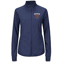 Plus Size Majestic Chicago Bears Track Jacket