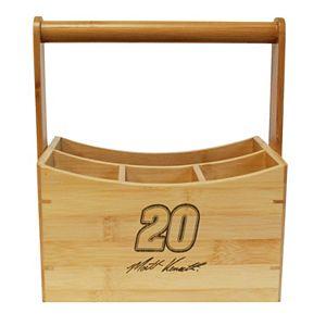 NASCAR Matt Kenseth Bamboo Utensil Caddy
