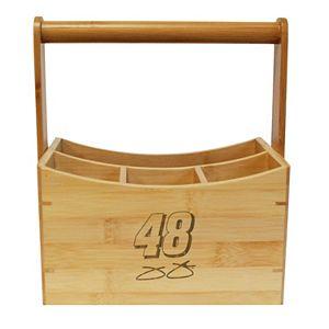 NASCAR Jimmie Johnson Bamboo Utensil Caddy