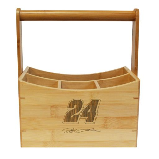 NASCAR Jeff Gordon Bamboo Utensil Caddy