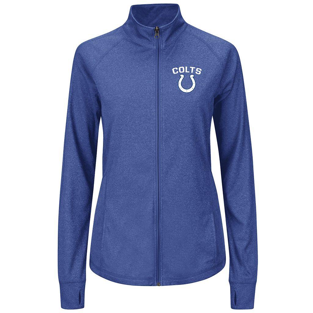 Plus Size Majestic Indianapolis Colts Track Jacket